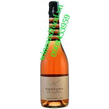 Rượu vang Mancura Brut Rose Sparkling 750ml