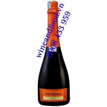 Rượu vang nổ Undurraga Brut 750ml