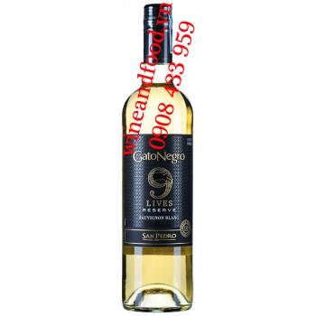 Rượu vang Gato Negro Lives Reserve Sauvignon Blanc 750ml
