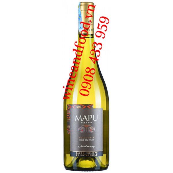 Rượu vang Mapu Chardonnay Reserva 750ml