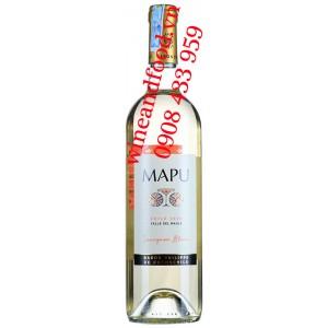 Rượu vang Mapu Sauvignon Blanc 750ml