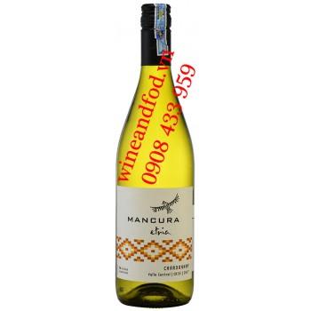 Rượu vang trắng Mancura Etria Chardonnay 750ml