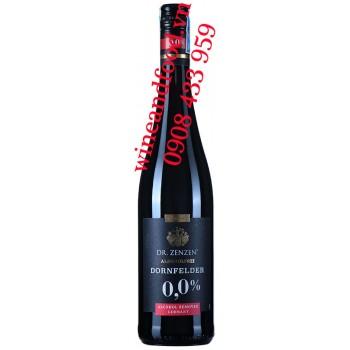 Rượu vang Dr Zenzen Dornfelder không cồn 750ml