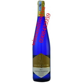 Rượu vang Gewurztraminer Spatlese Kessler Zink trắng