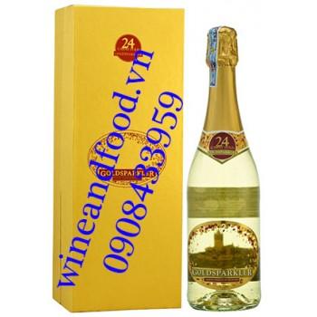 Rượu vang nổ Goldsparkler vảy vàng 750ml