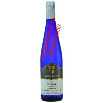Rượu vang Riesling Auslese Rheinhessen Kessler Zink trắng