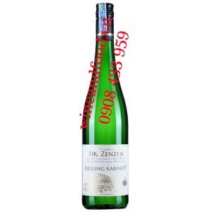 Rượu vang Riesling Kabinett Dr Zenzen 750ml
