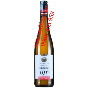 Rượu vang Riesling không cồn Alkoholfre Dr.Zenzen 750ml