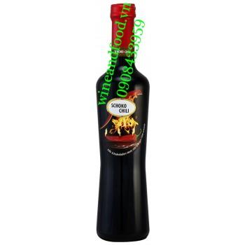 Rượu vang Socola vị ớt Schoko Chili 500ml