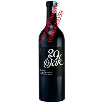 Rượu vang 29 & Oak Napa Valley Oakville Reserve