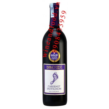 Rượu vang Barefoot Cabernet Sauvignon 750ml