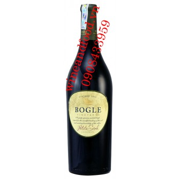Rượu vang Bogle Vineyards Petite Sirah 750ml