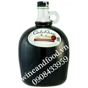 Rượu vang Carlo Rossi Cabernet Sauvignon 3l