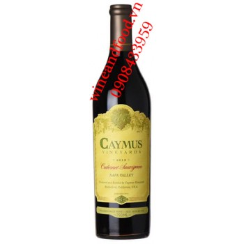 Rượu vang Caymus Cabernet Sauvignon Napa Valley