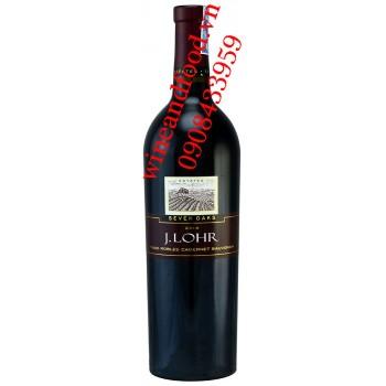 Rượu vang J.Lohr Seven Oaks Cabernet Sauvignon 750ml
