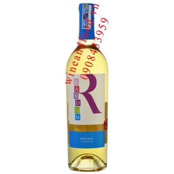 Rượu vang Random Moscato California 750ml