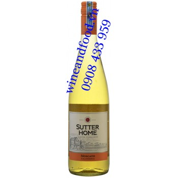 Rượu vang Shutter Home Moscato California 750ml