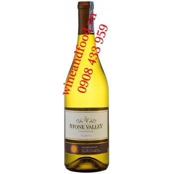 Rượu vang Stone Valley California Chardonnay 750ml