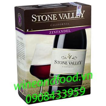 Rượu vang Stone Valley Zinfandel bình 3l