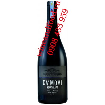 Rượu vang C'a Momi Heartcraft Pinot Noir Napa Valley 750ml