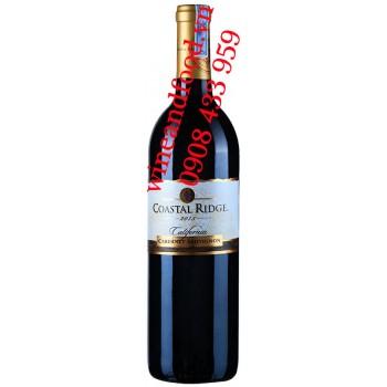 Rượu vang Coastal Ridge California Cabernet Sauvignon 750ml