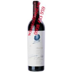 Rượu vang Opus One 2016 750ml