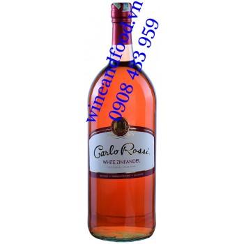 Rượu vang hồng Carlo Rossi White Zinfandel 1 Lít 5