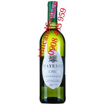 Rượu vang Bayede The Prince Sauvignon Blanc 750ml