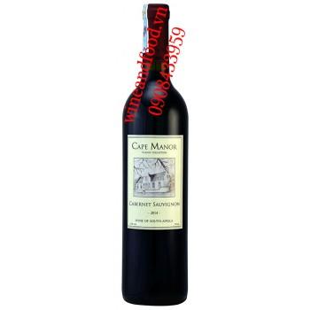 Rượu vang Cape Manor Cabernet Sauvignon 750ml