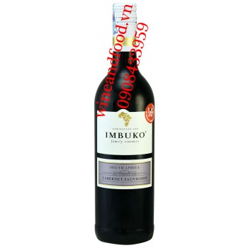 Rượu vang Imbuko Cabernet Sauvignon 750ml