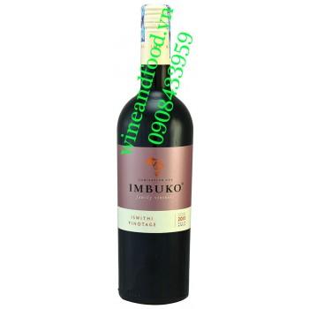 Rượu vang Imbuko Iswithi Pinotage 750ml