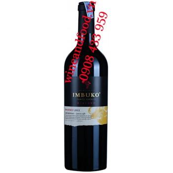 Rượu vang Imbuko Reserve Pinotage 750ml