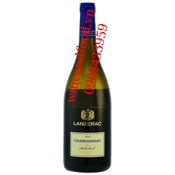 Rượu vang Lanzerac Chardonnay 750ml