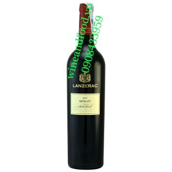 Rượu vang Lanzerac Merlot 750ml