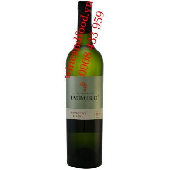 Rượu vang trắng Imbuko Sauvignon Blanc 750ml