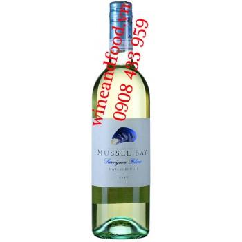 Rượu vang Mussel Bay Sauvignon Blanc 750ml