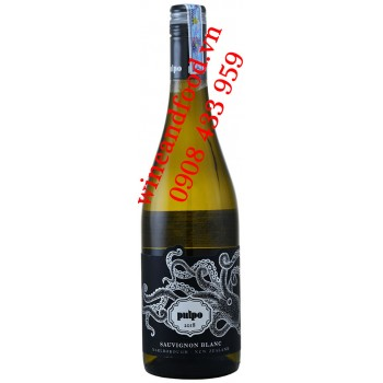 Rượu vang trắng Pulpo Sauvignon Blanc Marlborough 750ml