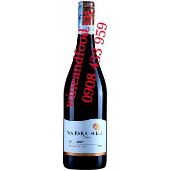 Rượu vang Waipara Hill Pinot Noir 750ml