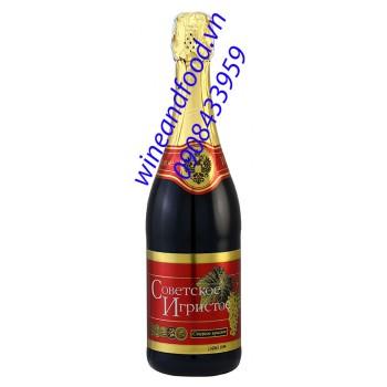 Rượu sâm panh Nga đỏ 5 đồng tiền 750ml