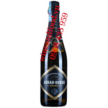 Rượu vang nổ Abrau Durso Rose Semi Sweet 750ml