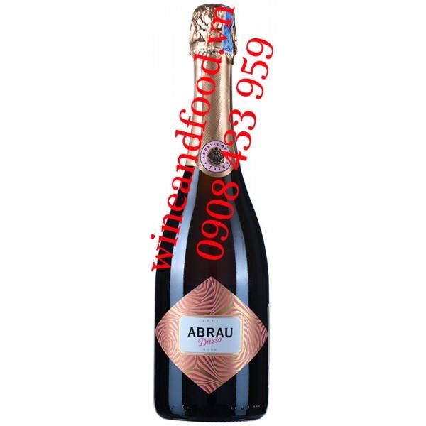 Rượu vang nổ Abrau Durso Sekt Rose 750ml