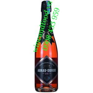 Rượu vang nổ Abrau Durso Rose hồng Semi Dry 750ml
