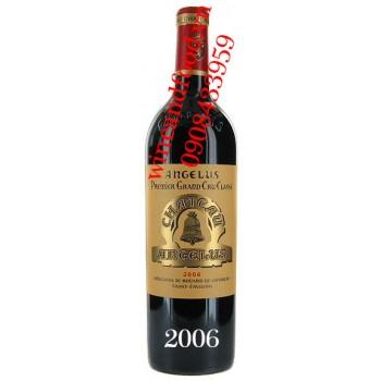 Rượu vang chateau Angelus Saint Emilion Grand Cru 2006