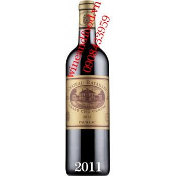 Rượu vang chateau Batailley Grand Cru Classe 2011
