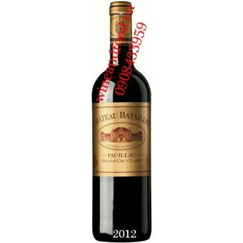Rượu vang chateau Batailley Grand Cru Classe 2012