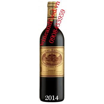 Rượu vang chateau Batailley Grand Cru Classe 2014