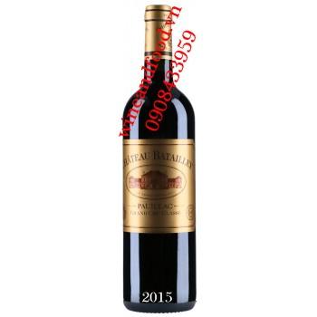 Rượu vang chateau Batailley Grand Cru Classe 2015