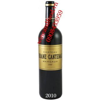Rượu vang chateau Brane Cantenac 2010