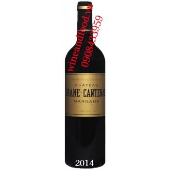 Rượu vang chateau Brane Cantenac 2014
