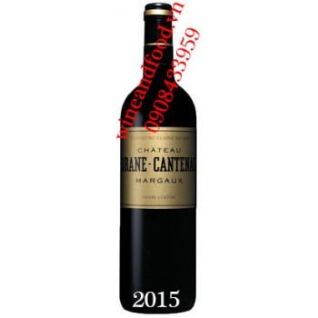 Rượu vang chateau Brane Cantenac 2015